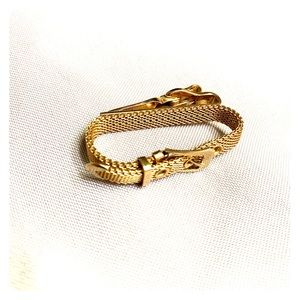 Vintage Gold Toned Swank Tie Pin